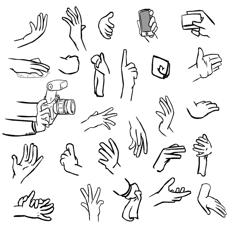 800x800 I Seriously Love Drawing Hands