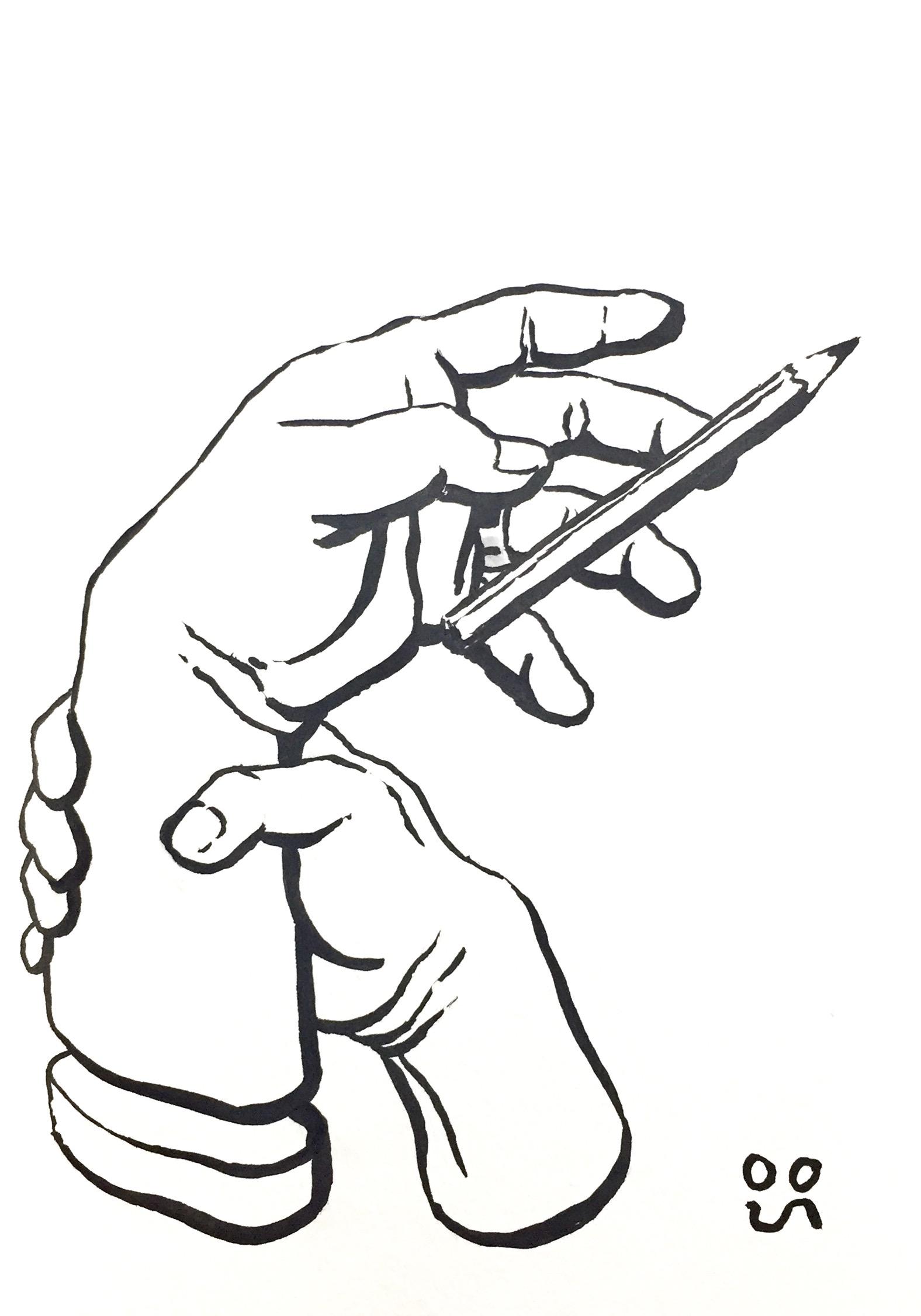 1576x2253 Drawing Hands (July November 2017) Albinogoth