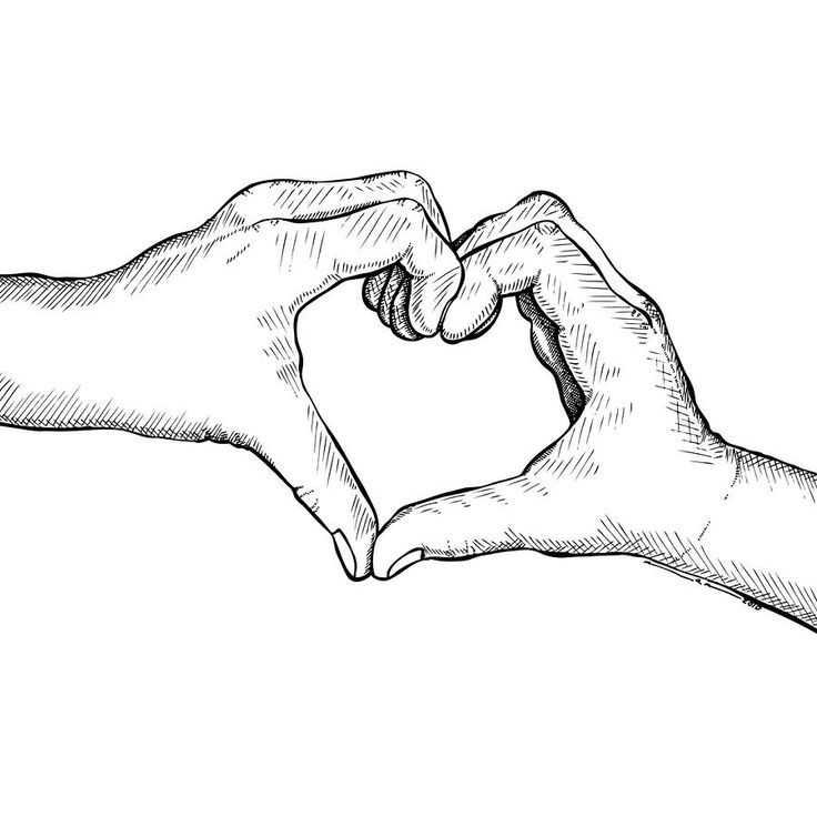 736x736 Heart Hands Hands And Drawings On Hand Drawn Heart