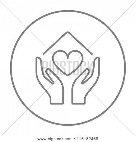 450x470 Hands Holding House Symbol Heart Vector Amp Photo Bigstock