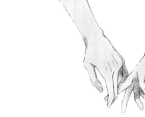 500x404 Drawing Holding Hands Tumblr