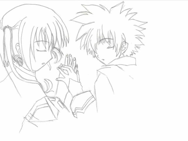 640x480 Drawing Anime Love Holding Hands Cute Couple Boy And Girl Sketch