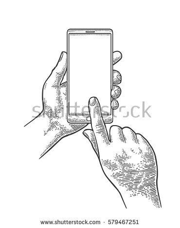 370x470 Drawn Hand Gesture Hand Holding