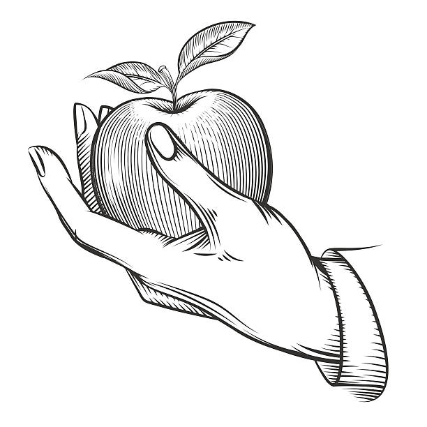 612x612 Drawn Macbook Hand Holding