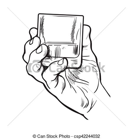450x470 Hand Holding Glass Vector Stock Photos And Images. 4,761 Hand