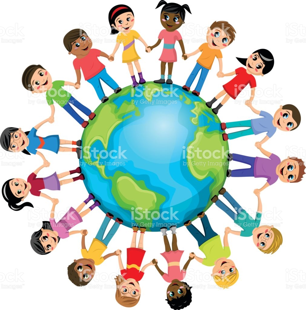 1011x1024 Human Clipart Kid Around World