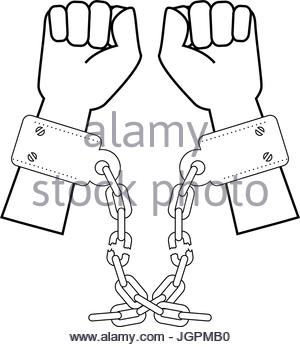 300x347 Hands With Handcuffs Icon Stock Vector Art Amp Illustration, Vector