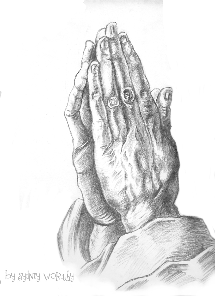 700x963 The Praying Hands By Selladorra