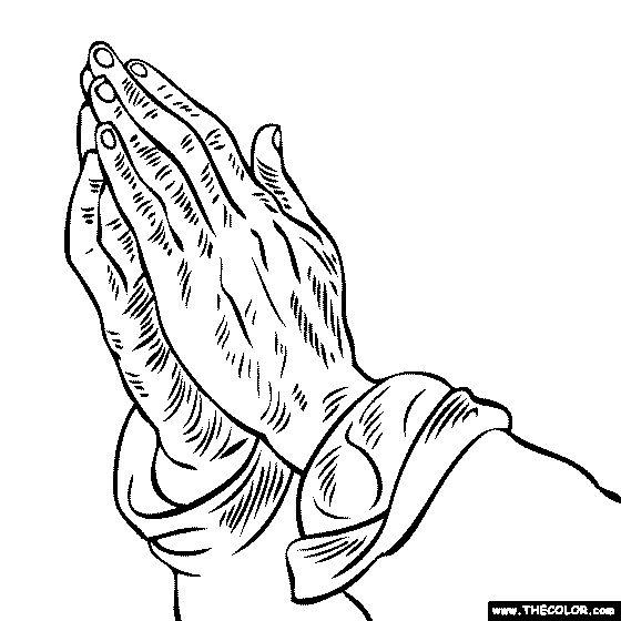 560x560 Drawn Rennaisance Praying Hand