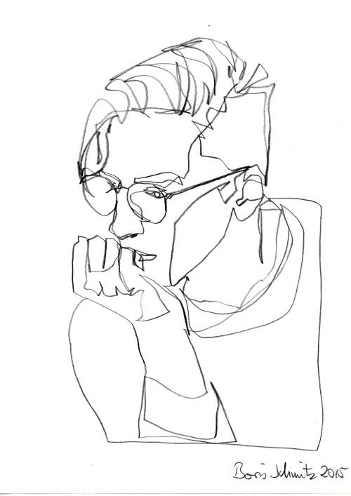 500x707 The Best Continuous Line Drawing Ideas