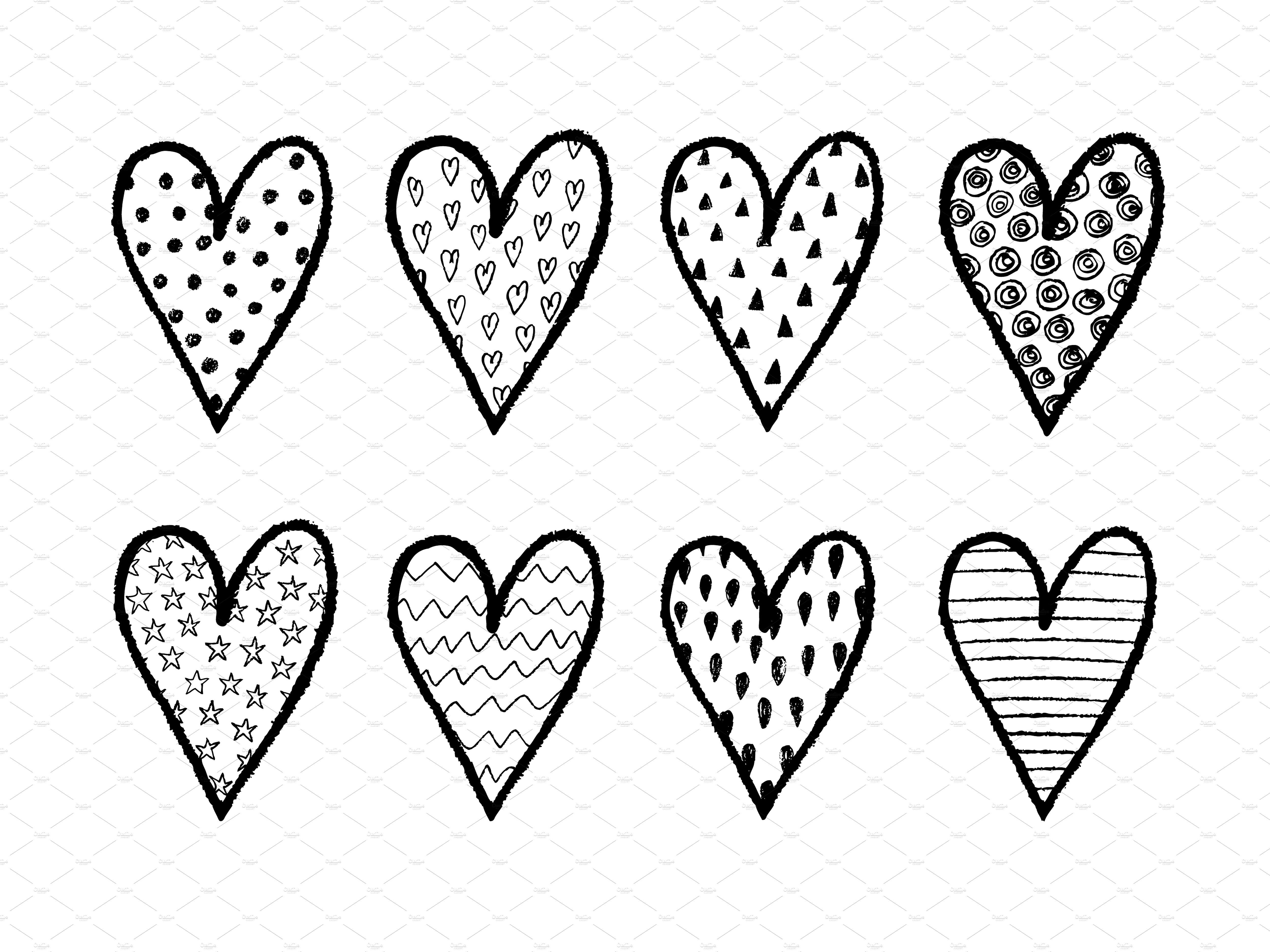 5000x3750 Drawn Heart