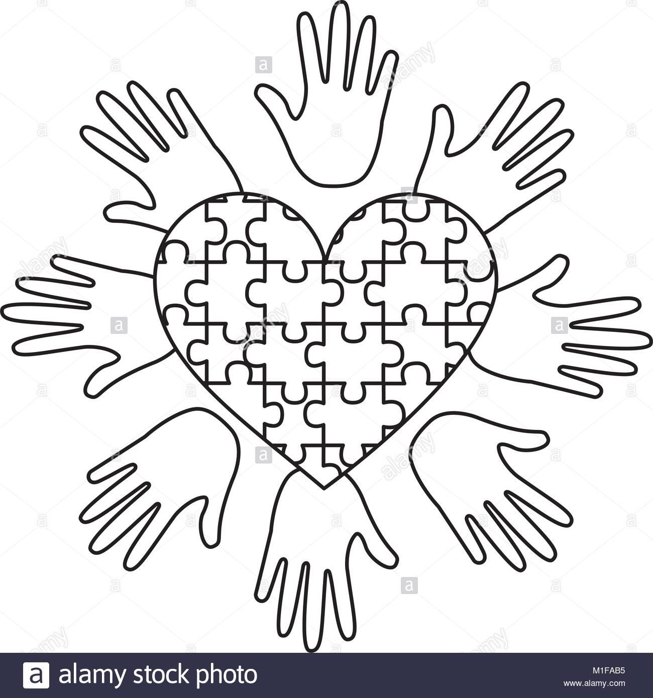 1300x1390 Heart Hands Vector Stock Photos Amp Heart Hands Vector Stock Images
