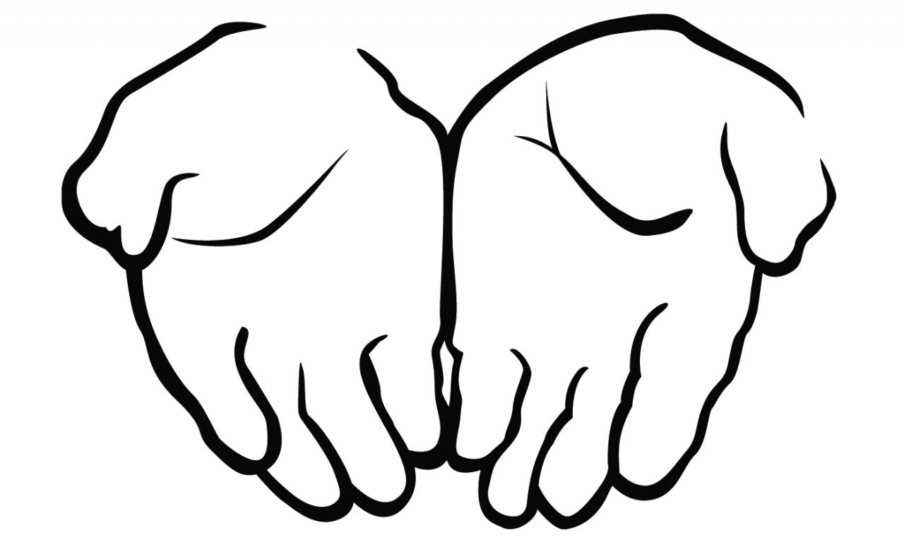 1280x768 Open Hand Coloring Hands