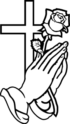 240x425 Praying Hands Quiring Monuments