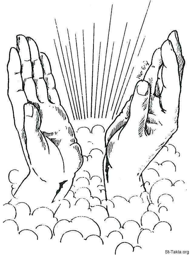 640x851 Praying Hands Coloring Page Coloring Pages Of Praying Hands