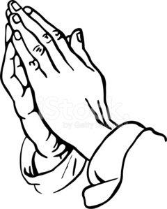 240x299 Praying Hands Stock Vectors