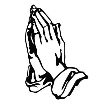 360x360 Praying Hands Praying Hand Prayer Clipart Image 13 2