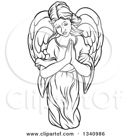 450x470 Praying Hands Clip Art