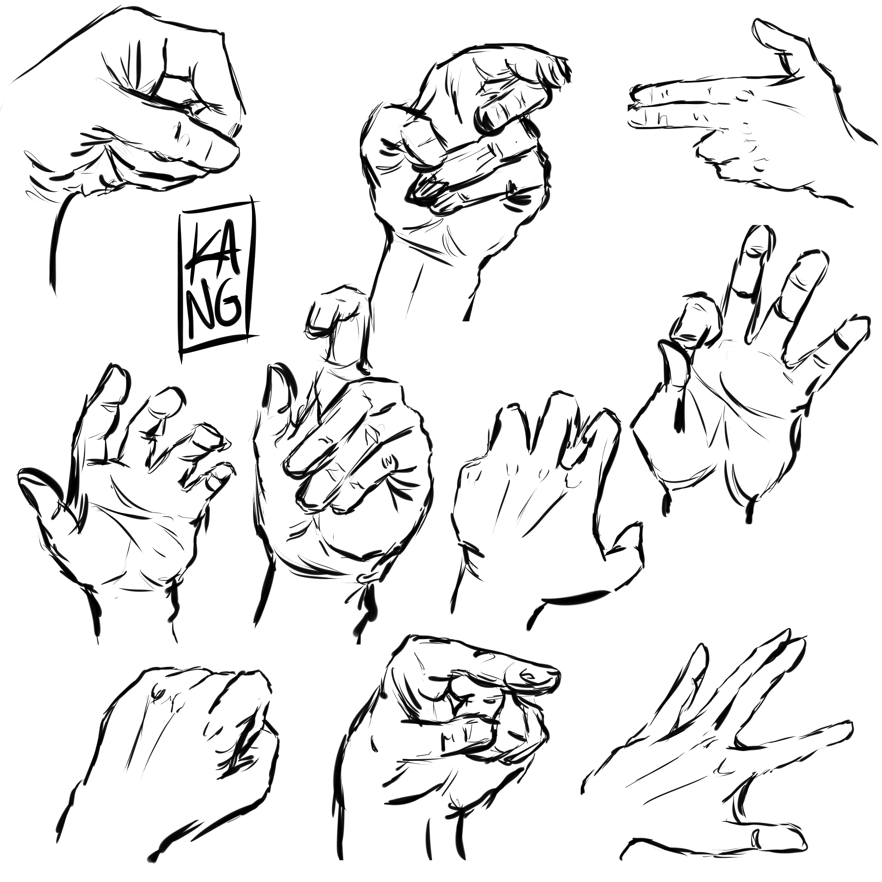 3000x3000 Hands References 1 By Thecaptainsparrow
