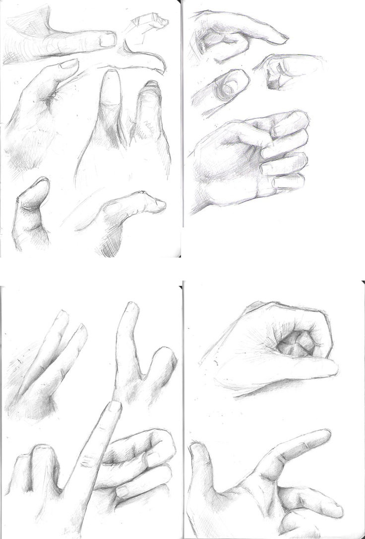 736x1086 Use Reference To Draw Hands