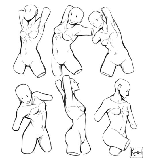 500x555 Female Art Reference Tumblr