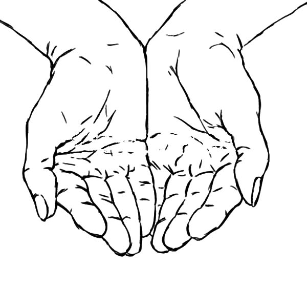 600x560 Praying Hands Praying Hands Best Place To Color Konsep Tattoo