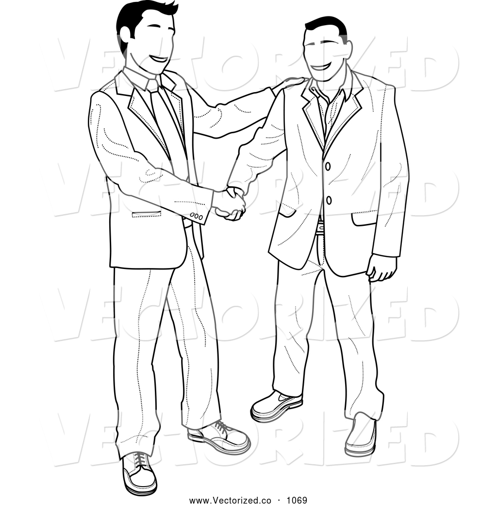 1024x1044 Two People Shaking Hands Clipart
