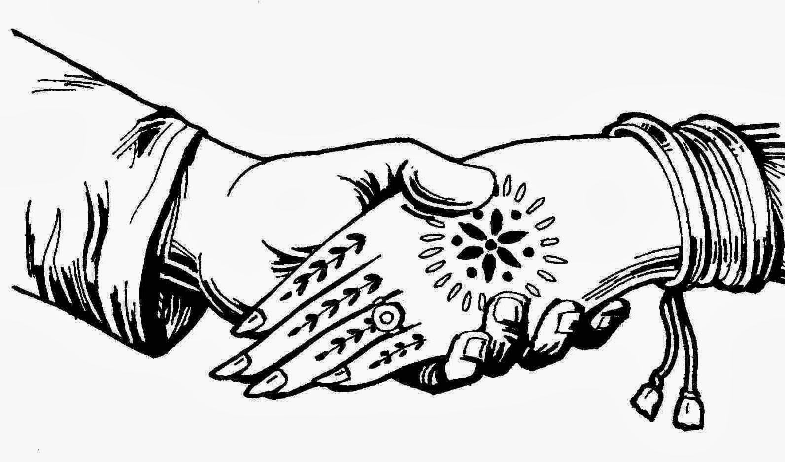 1593x938 Wedding Hand Clipart
