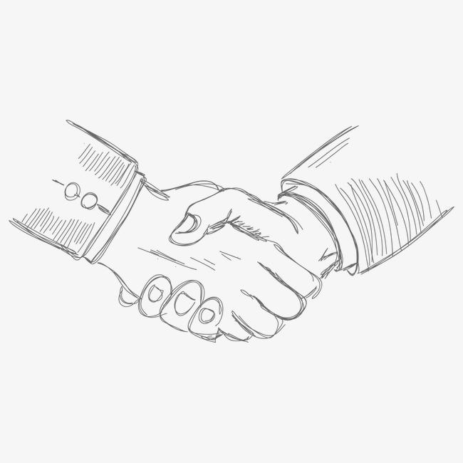 650x650 Shake Hands, Hand Painted Handshake, Gesture, Hand Painted