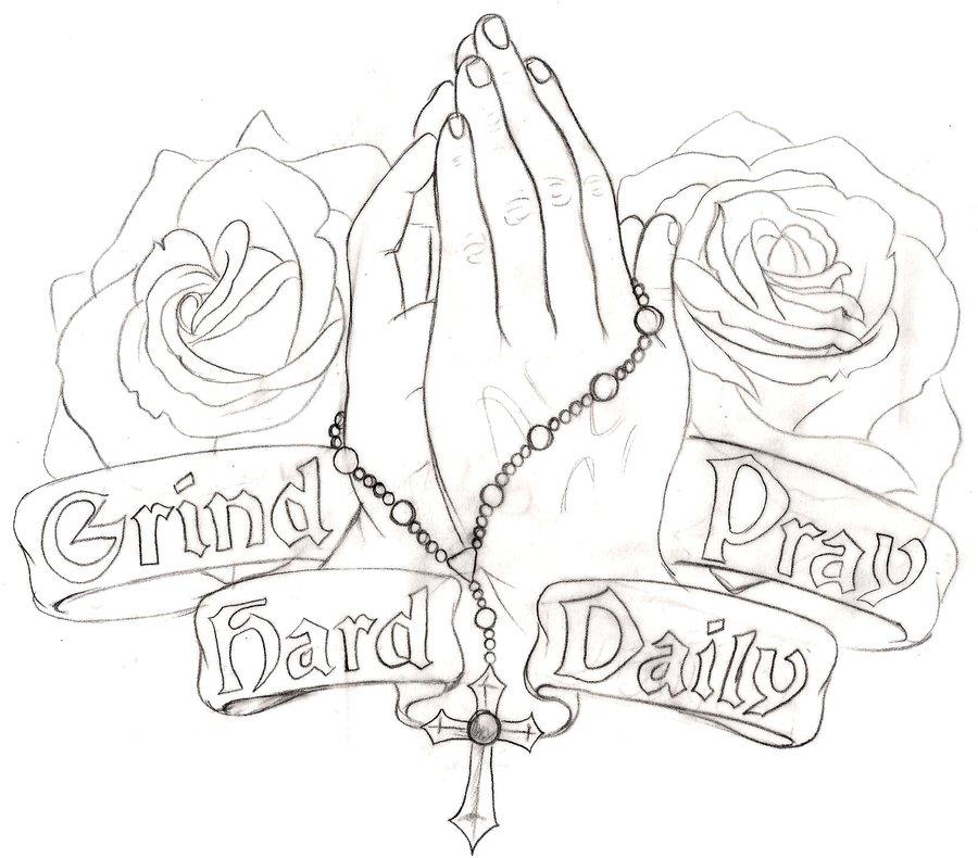 900x790 Praying Hands Tattoo 4 By ~metacharis On Tattoos
