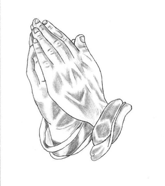 580x654 8 Nice Praying Hands Tattoo Design Ideas