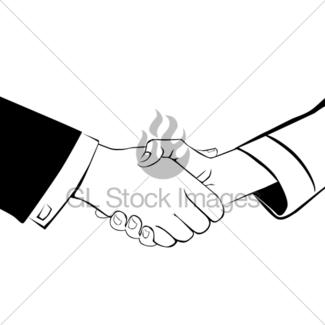 325x325 Global Handshake Icon Gl Stock Images
