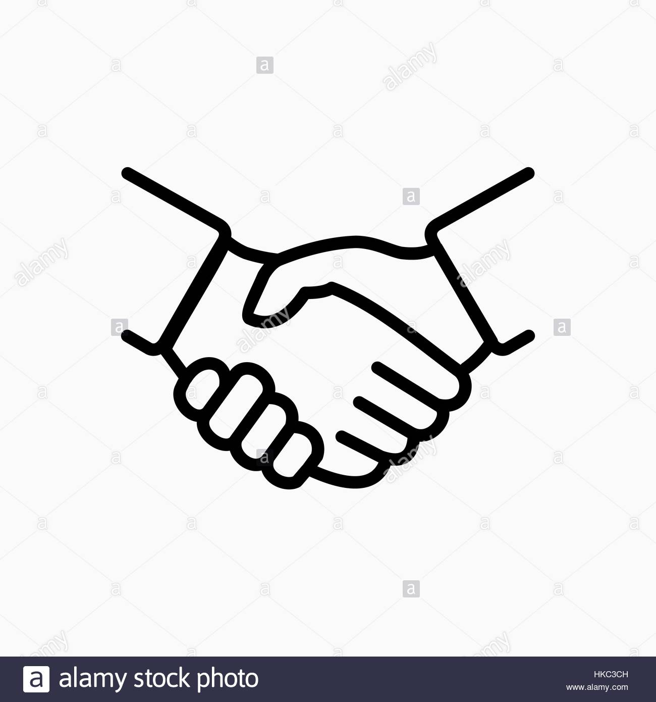1300x1390 Handshake Icon Simple Vector Illustration. Deal Or Partner