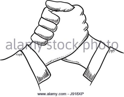 409x320 Business Handshake Symbol Stock Vector Art Amp Illustration, Vector