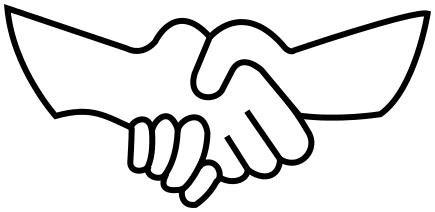 435x212 Handshake Outline