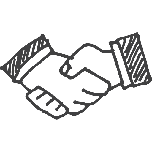512x512 Handshake Work Monkey Labs