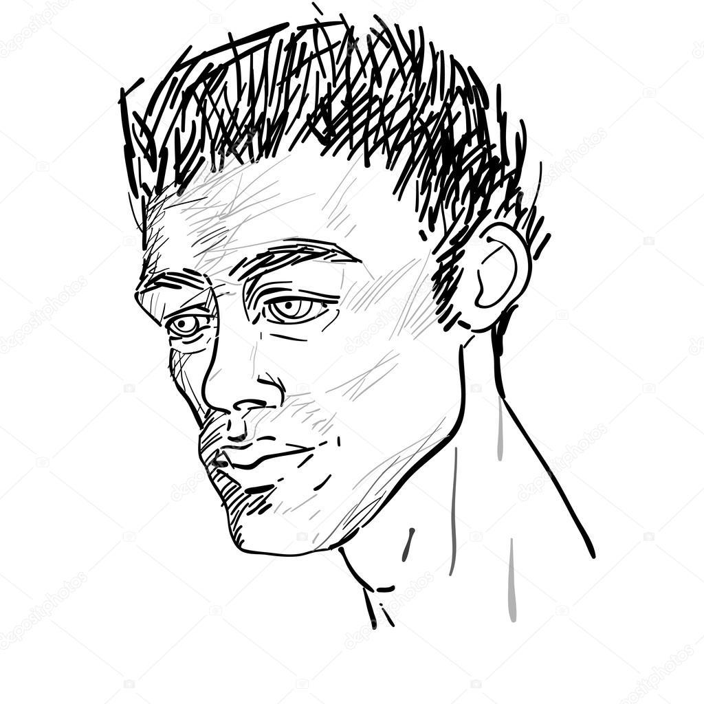 1024x1024 Icon Handsome Man Stock Photo Richcat