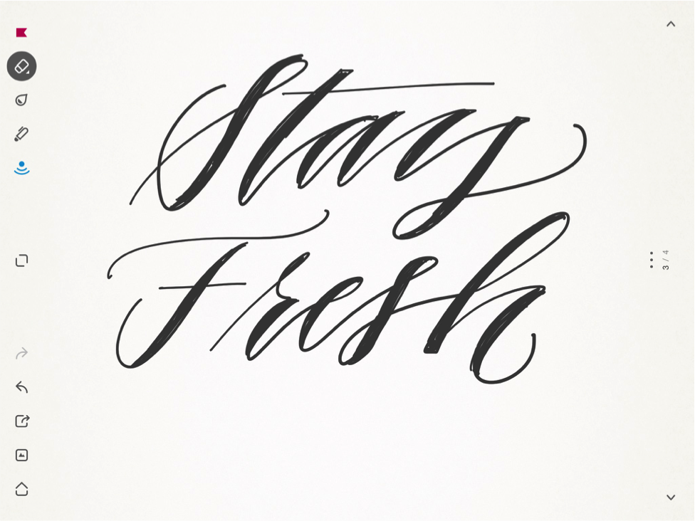 976x732 Getting Started With Faux Calligraphy On Your Ipad