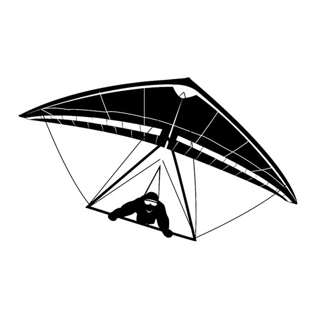 640x640 16.9cm9.9cm Interesting Extreme Hang Gliding Glider Sports