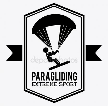 450x444 Hang Glider Stock Vectors, Royalty Free Hang Glider Illustrations