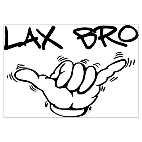 460x460 Loose Lax Bro Canvas Art