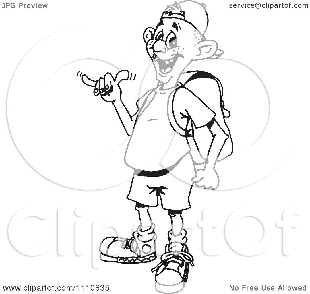 1080x1024 Clipart Black And White Guy Gesturing Hang Loose
