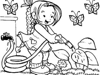 320x240 Drawing For Children To Colour Pictures For Kids To Colour