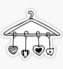 210x230 Hanger Drawing Stickers Redbubble