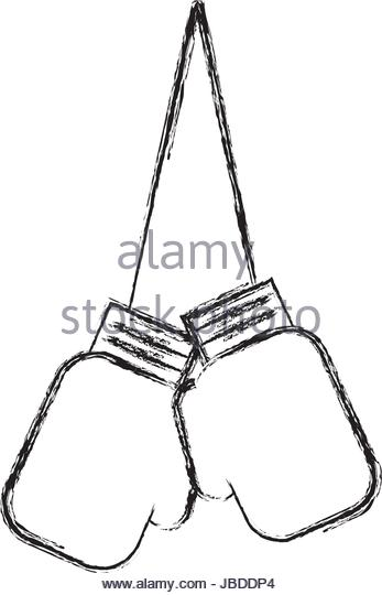347x540 Boxing Gloves Sketch Stock Photos amp Boxing Gloves Sketch Stock