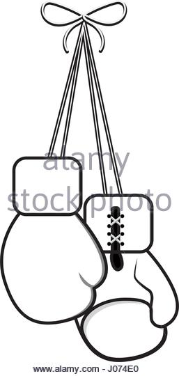 257x540 Hanging Boxing Gloves Black And White Stock Photos Amp Images
