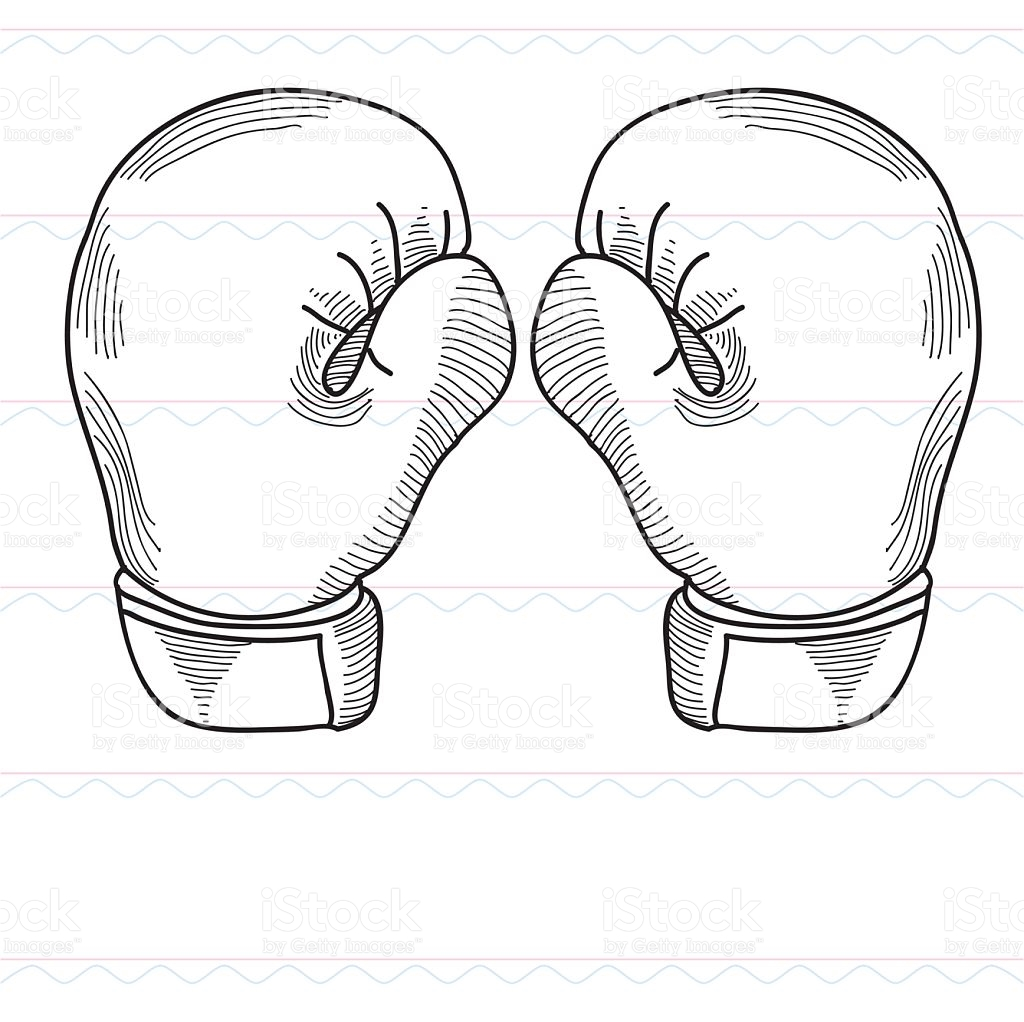 1024x1022 Pictures Boxing Glove Sketch,