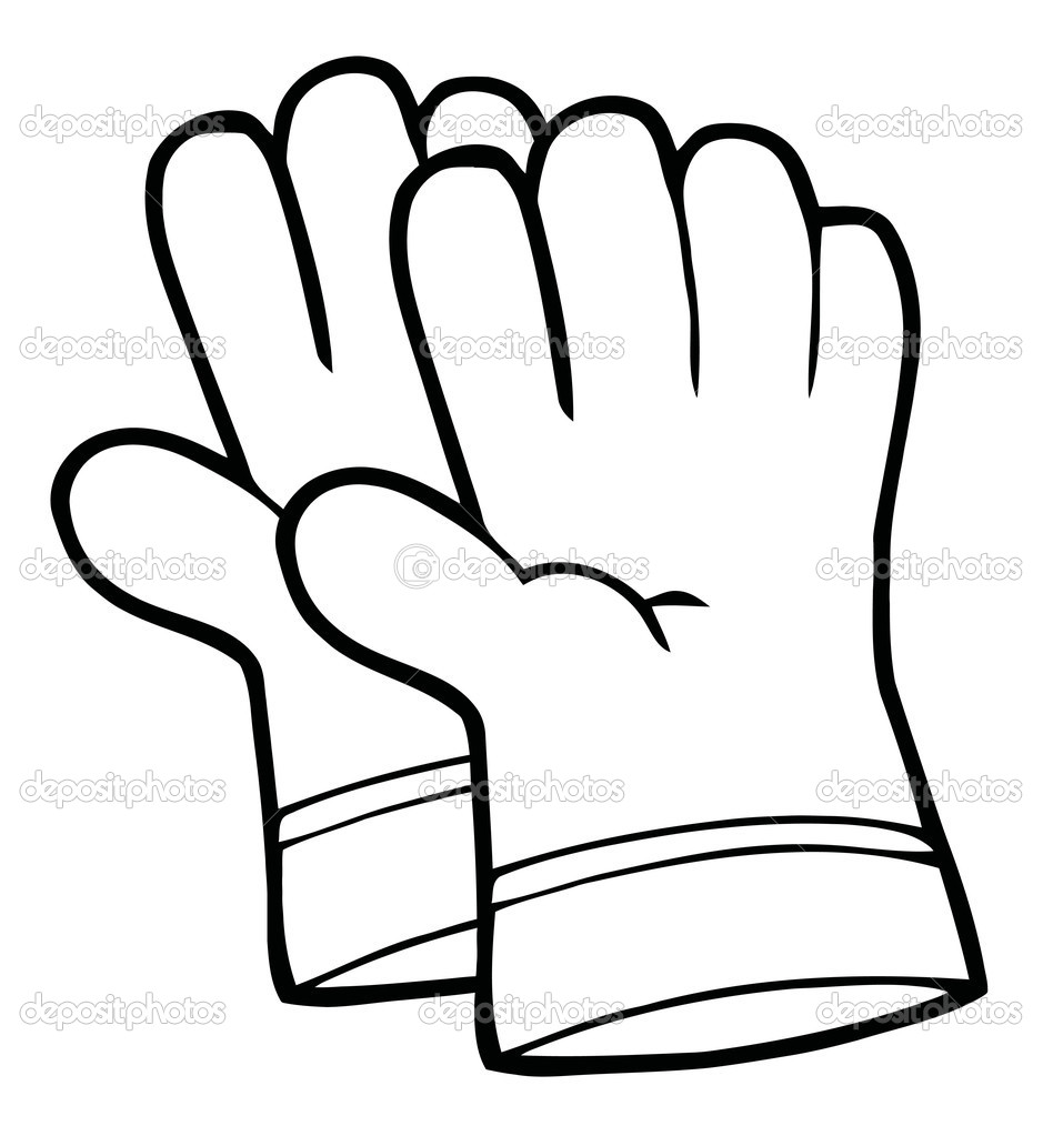 939x1023 Safety Gloves Clipart