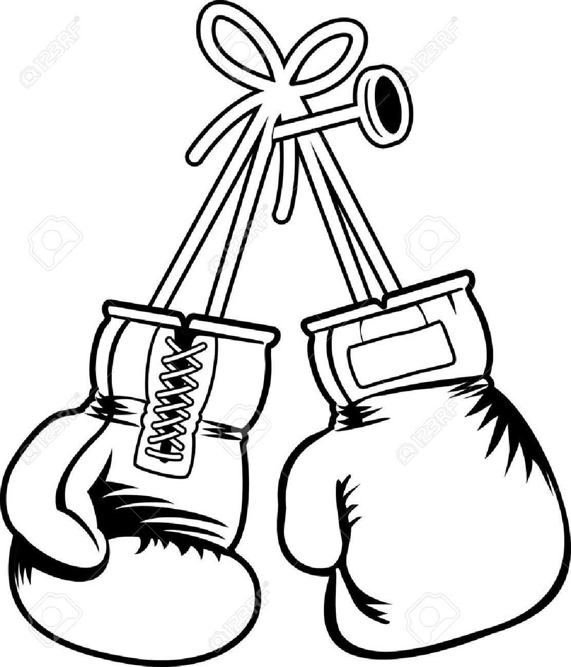 Hanging Boxing Gloves Drawing At Getdrawings Com Free For Personal Use Hanging Boxing Gloves