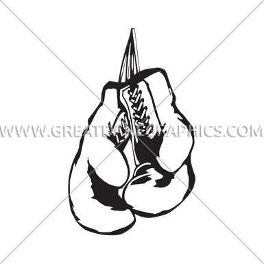 385x385 Boxing Gloves Art Group